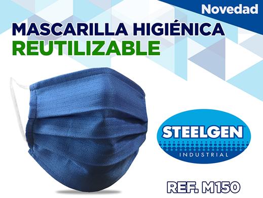 CONSIDERACIONES MASCARILLA TEXTIL M150